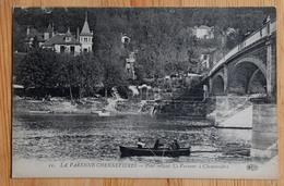 94 : La Varenne - Chennevières - Pont Reliant La Varenne à Chennevières - Animée : Petite Animation - Barque - (n°14504) - Chennevieres Sur Marne