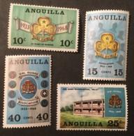 ANGUILLA - MNH** - 1968 - # 40/43 - Anguilla (1968-...)
