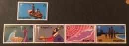 ANGUILLA - MNH** - 1974 - # 205/210 - Anguilla (1968-...)