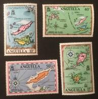 ANGUILLA - MNH** - 1972 - # 136/139 - Anguilla (1968-...)