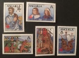 ANGUILLA - MNH** - 1986 - # 701/705 - Anguilla (1968-...)