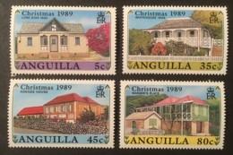 ANGUILLA - MNH** - 1989 - # 787/790 - Anguilla (1968-...)
