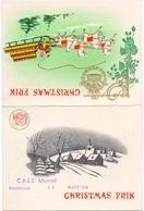 Kalender Calendrier - 1960 - Bier Bière Christmas Frik - Caes Waregem - Formato Piccolo : 1941-60