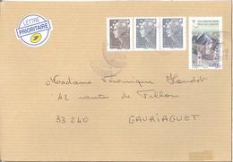 Neu Vy St Sépulchre +  Beaujard   1,05 €   -   La Poste    27.8.2013  2èm échelon - Storia Postale
