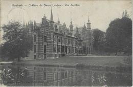 Humbeek   -   Château Du Baron Lunden   -   Vue Derrière   -  RELAIS!  -  1906  Naar   Bruxelles - Grimbergen