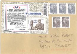 Appel Du 18juin 40 +  Beaujard   -  Toulon  13.6.2011 - 1961-....