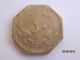 Sudan: 50 Gersh 1987 - Soudan