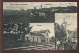57 - NIEDERSTINZEL - TOTAL ANSICHT - BAHNHOF - KIRCHE - VUE GENERALE  LA GARE - L'EGLISE - France