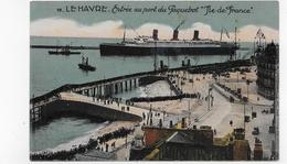LE HAVRE - N° 98 - PAQUEBOT ILE DE FRANCE - ENTREE AU PORT - 76 - Paquebots
