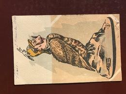 1 CP Illustrateur MOLYNK - Faucon Humanisé - Illustrateurs & Photographes
