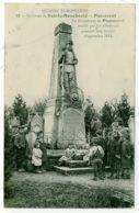 51 - B3004CPA - PASSAVANT - Le Monument Mutilé Par Les Allemands Pendant La Retraite - Parfait état - MARNE - France