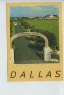 Piece D Antan - Etats Unis - Dallas - Texas - Southfork Ranch - Oblit En 1986 - Dallas