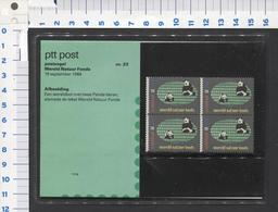 PTT Post , Wereld Natuur Fonds - 18-9-1984 - Mapje 23 ( 1 )- NOT Used - See The 2 Scans For Condition( Originaal) - Periode 1980-... (Beatrix)