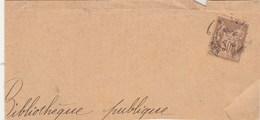 Yvert 80 Sage Perforé 6 Trous ( Imprimerie Berger Levrault ) Sur Fragment De Lettre - Francia