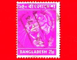 BANGLADESH - Usato - 1973 - Animali ( Fauna ) - Tigri - Bengal Tiger (Panthera Tigris Tigris) - 25 - Bangladesh