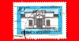 ARGENTINA - Usato - 1980 - Casa Dell'Indipendenza, Tucuman - 10 - Argentina