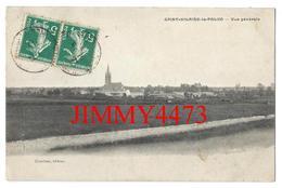 CPA - Vue Générale En 1912 - SAINT HILAIRE LA PALUD ( Canton De Melle ) 79 Deux Sèvres - Edit. Girardeau - Melle