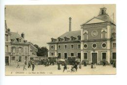 Piece D Antan - Yvetot - La Place Des Halles - Yvetot