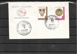 Italia - Europa Cept 1976 Fdc (ref 611 ) - 6. 1946-.. Republic