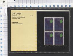 PTT Post , Middel En Kleinbedrijf -23-10-1984 - Mapje 24 - NOT Used - See The 2 Scans For Condition( Originaal) - 1980-... (Beatrix)