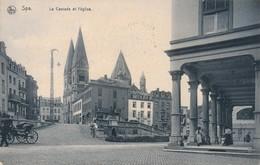CPA - Belgique - Spa - La Cascade Et L'Eglise - Spa