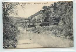 CPA 04 Alpes De Haute Provence Corbières La Passerelle Du Riou - Francia