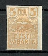 Estland Estonia 1919 Michel 5 * - Estonia