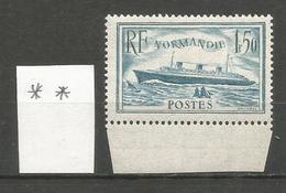 1935-36 - N° 300 ** (MNH) - Bord De Feuille - France