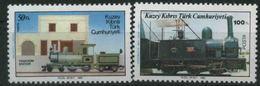 1986 Cipro Del Nord, Ferrovia E Treni, Serie Completa Nuova (**) - Nuovi
