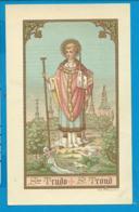 Holycard    St. Trudo - Images Religieuses