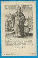 Holycard    St. Vedastus V. Arras - Imágenes Religiosas