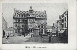 Hal.   -   Hôtel De Ville    -   1900 - Halle