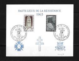 1963 HAUTS LIEUX DE LA RÉSISTANCE - France