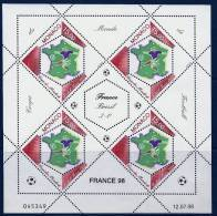 "Monaco YT 2163 Feuillet "" Coupe Du Monde Football "" 1998 Neuf** - Monaco"