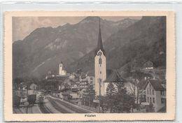 Flüelen - Kirche - Buffet - Bahnhof - UR Uri