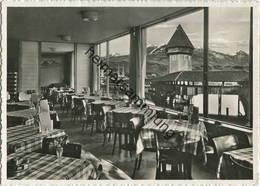 Luzern - Hotel Restaurant Mostrose - Besitzer J. Bühlmann - Foto-Ak Großformat - Verlag E. Goetz Luzern Gel. 1953 - LU Lucerne