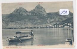 CPM -19199-Suisse -Brunnen - Belle Animation - Envoi Gratuit - SZ Schwyz
