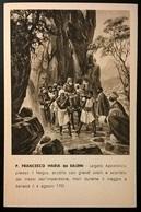 FRANCESCANI IN ABISSINIA P. FRANCESCO MARIA DA SALEMI - Missioni