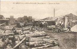 Cpa  St Hilaire La Pallud Scierie Du Pairé - Autres Communes