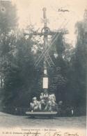 CPA - Belgique - Edegem - Ingang Der Grot - Het Kruis - Edegem