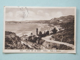 VALONA - PORTO E CRIONERO - ALBANIA - Viaggiata Nel 1941 Posta Militare - Albania