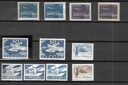 Association Des Pays Du Nord  Suède, Norvège, Danemark  Poste Aérienne  N** MNH - Unused Stamps