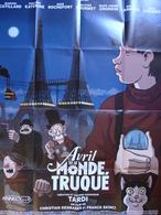 """Affiche De TARDI Pour Le Film """"Avril Et Le Monde Truqué"""" /  2015 - Affiches & Offsets"""