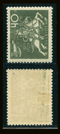 SUEDE 1924 N° 185 * Cinquantenaire De L'U.P.U. Papier Teinté Dentelé 9 1/2 X 10 Voir Photo - Schweden