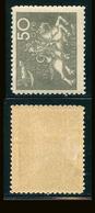 SUEDE 1924 N° 187 * Cinquantenaire De L'U.P.U. Papier Teinté Dentelé 9 1/2 X 10 Voir Photo - Schweden