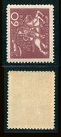 SUEDE 1924 N° 188 * Cinquantenaire De L'U.P.U. Papier Teinté Dentelé 9 1/2 X 10 Voir Photo - Schweden