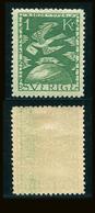 SUEDE 1924 N° 190 * Cinquantenaire De L'U.P.U. Papier Teinté Dentelé 9 1/2 X 10 Voir Photo - Schweden