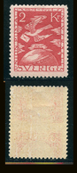SUEDE 1924 N° 191 * Cinquantenaire De L'U.P.U. Papier Teinté Dentelé 9 1/2 X 10 Voir Photo - Schweden