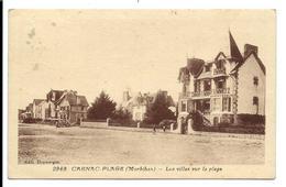 CARNAC Plage - VILLAS - Rivière Bureau éditeur N°2969 - Carnac