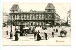 Bruxelles - La Gare Du Nord / J. Schaefer No. Brux. 21 - Vervoer (openbaar)
